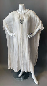 O'pell Bohemian Sheer Cotton Gauze Tunic Caftan