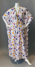 Load image into Gallery viewer, O'pell 80s Polka Dot Print Short Torso Caftan