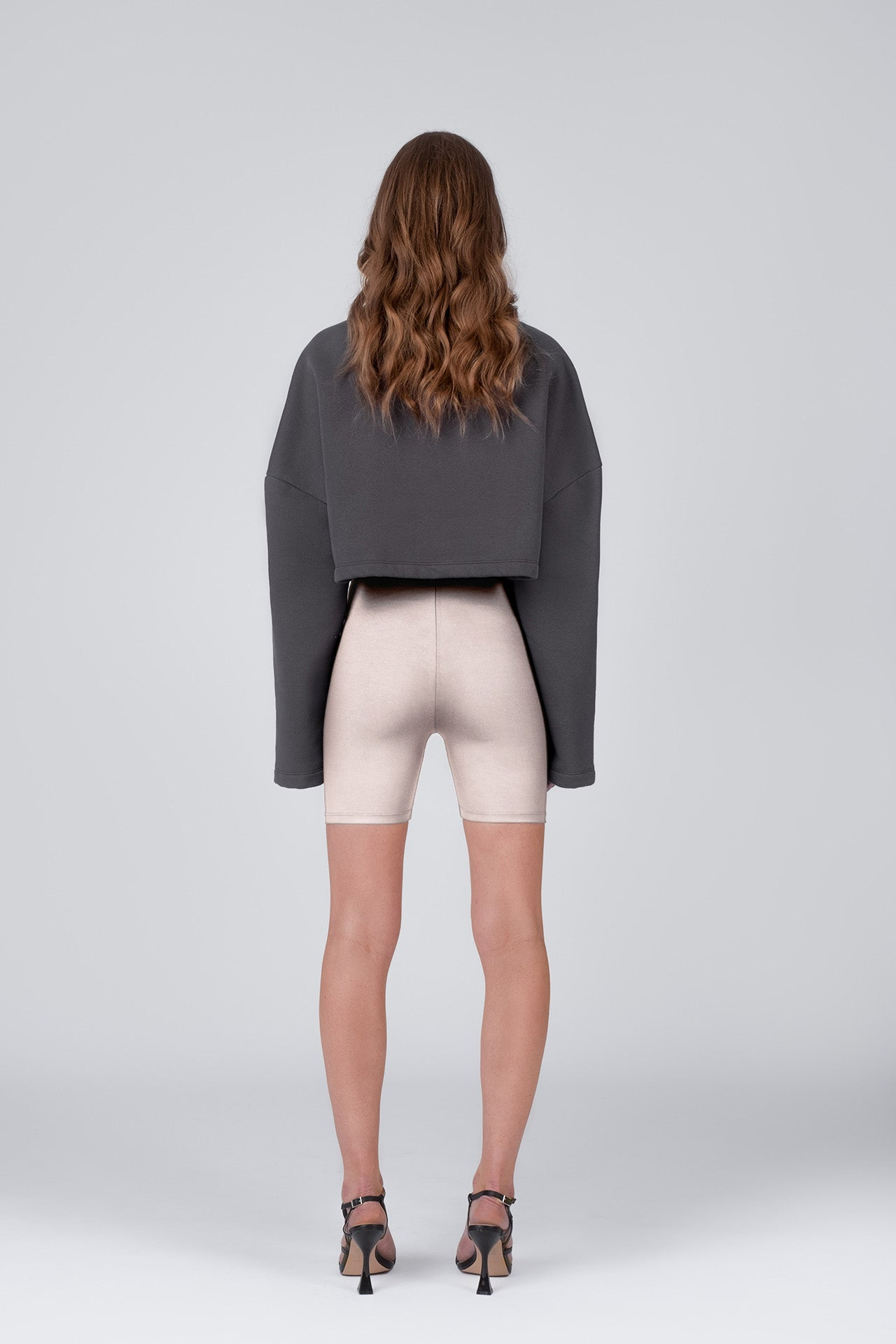 BIKE SHORTS 01 - light beige