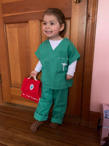 Personalized Dress-up scrubs