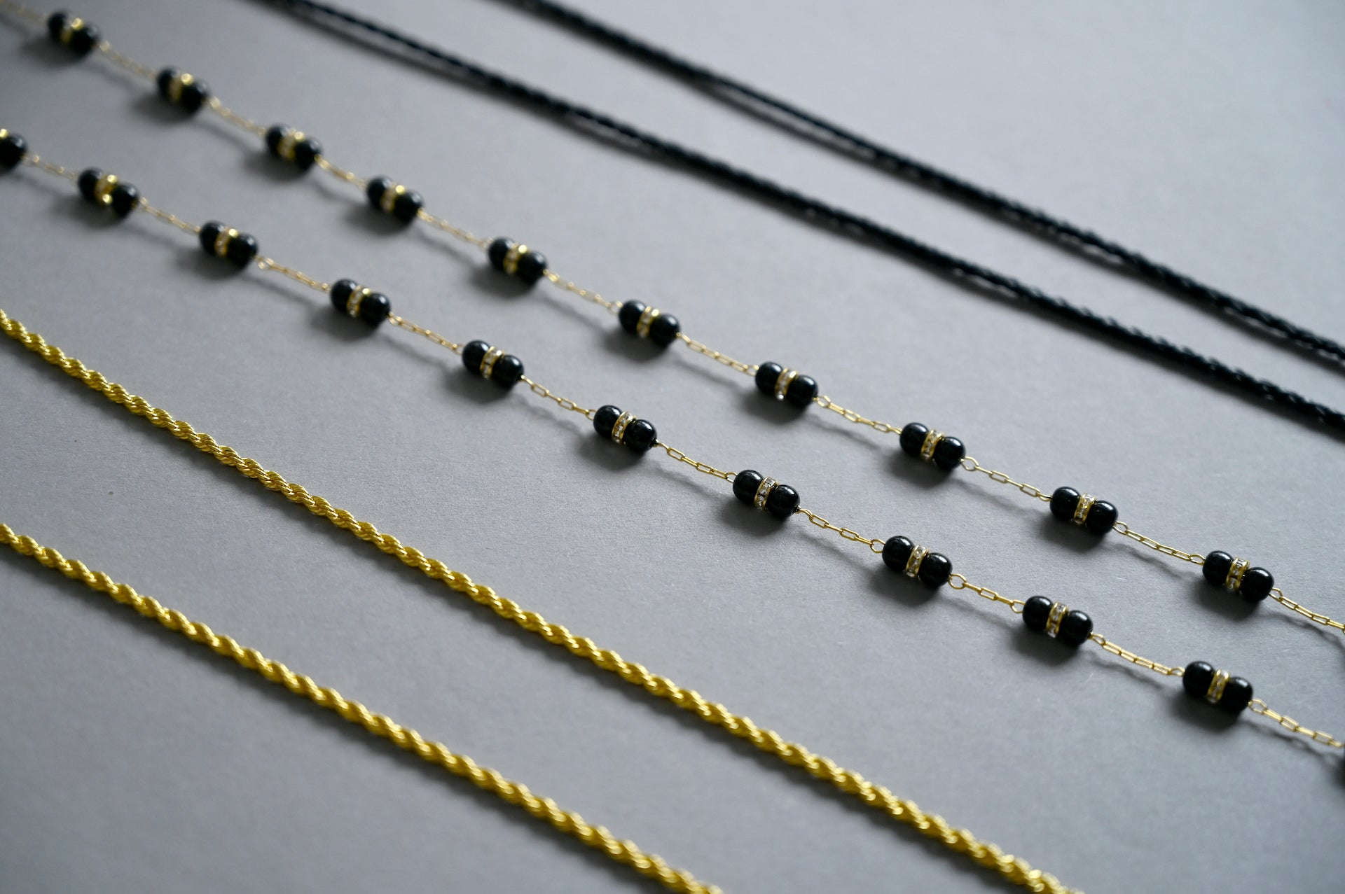 Timeless - Roped Gold Mask Chain