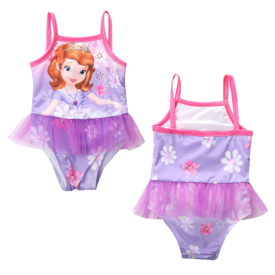 2-8Y Sofia Floral Tutu  One Pieces Swimwear