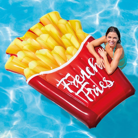 175cm Giant French Fries Inflatable Pool Float