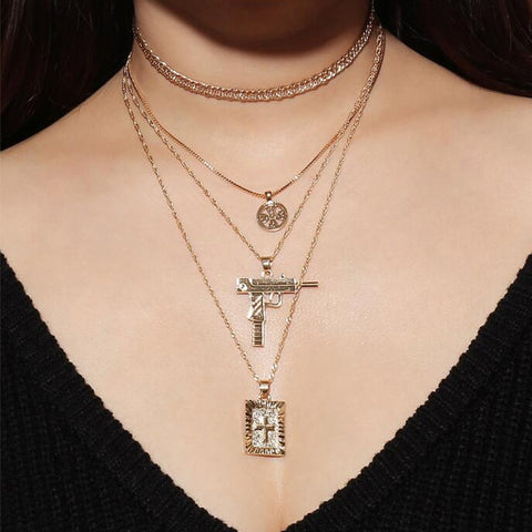 Anti-war Peace Layered Necklace