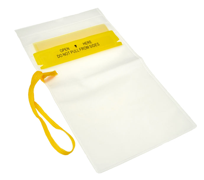 Waterproof Resealable Storage Pouch, PVC Material (sml,med,lrg)