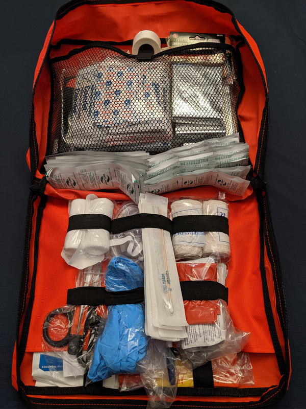 WorksafeBC (WCB) Level 1 First Aid Kit with Wool Blanket