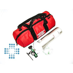 Oxygen Therapy System Complete D-cylinder, Level 3 Worksafe or Home Medical