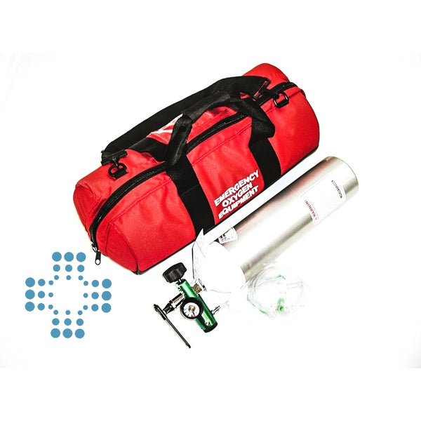 Oxygen Therapy System Complete D-cylinder(Exchange), Level 3 Worksafe or Home Medical