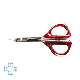 Micro point scissor 3.5inch red handle