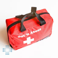 Out and about empty first aid bag 6.5x4.5x3 inch