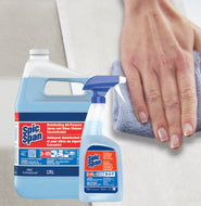 Spic and Span® Disinfecting All-Purpose Spray and Glass Cleaner Item #: 152019 (1 gal) | 258226 (945 mL)