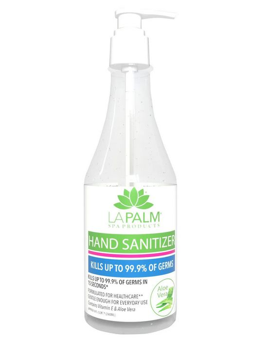 La Palm hand sanitizer 8oz - 240ml