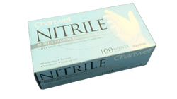 Gloves nitrile exam, Chartwell PF - bx/100