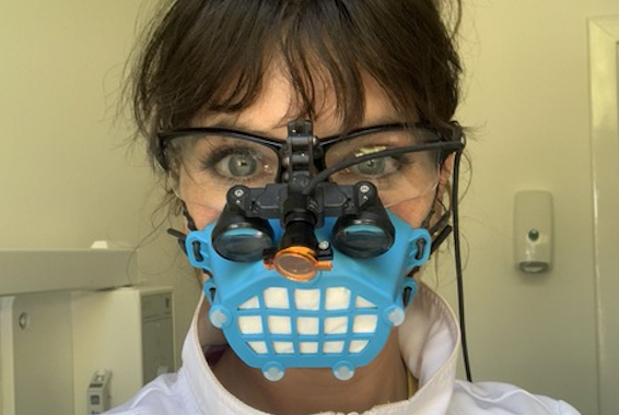 Dentists Need Masks to Get Back to Work