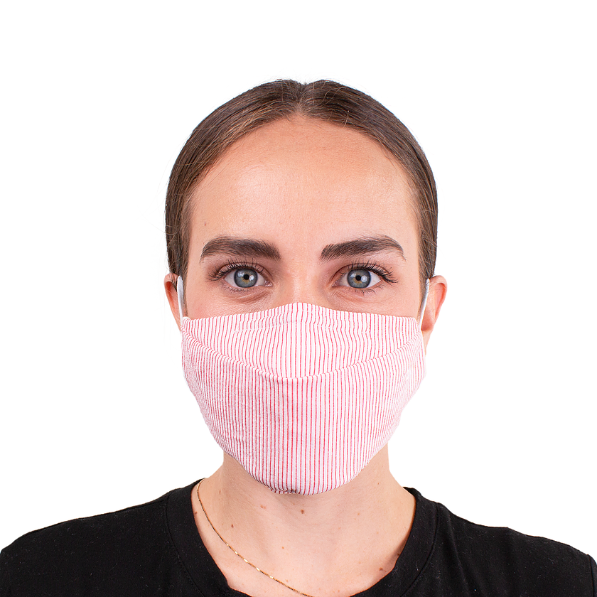 Back to Work Mask - Medium Red