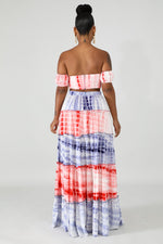 Load image into Gallery viewer, Tie Dye Maria Maxi Skirt Set
