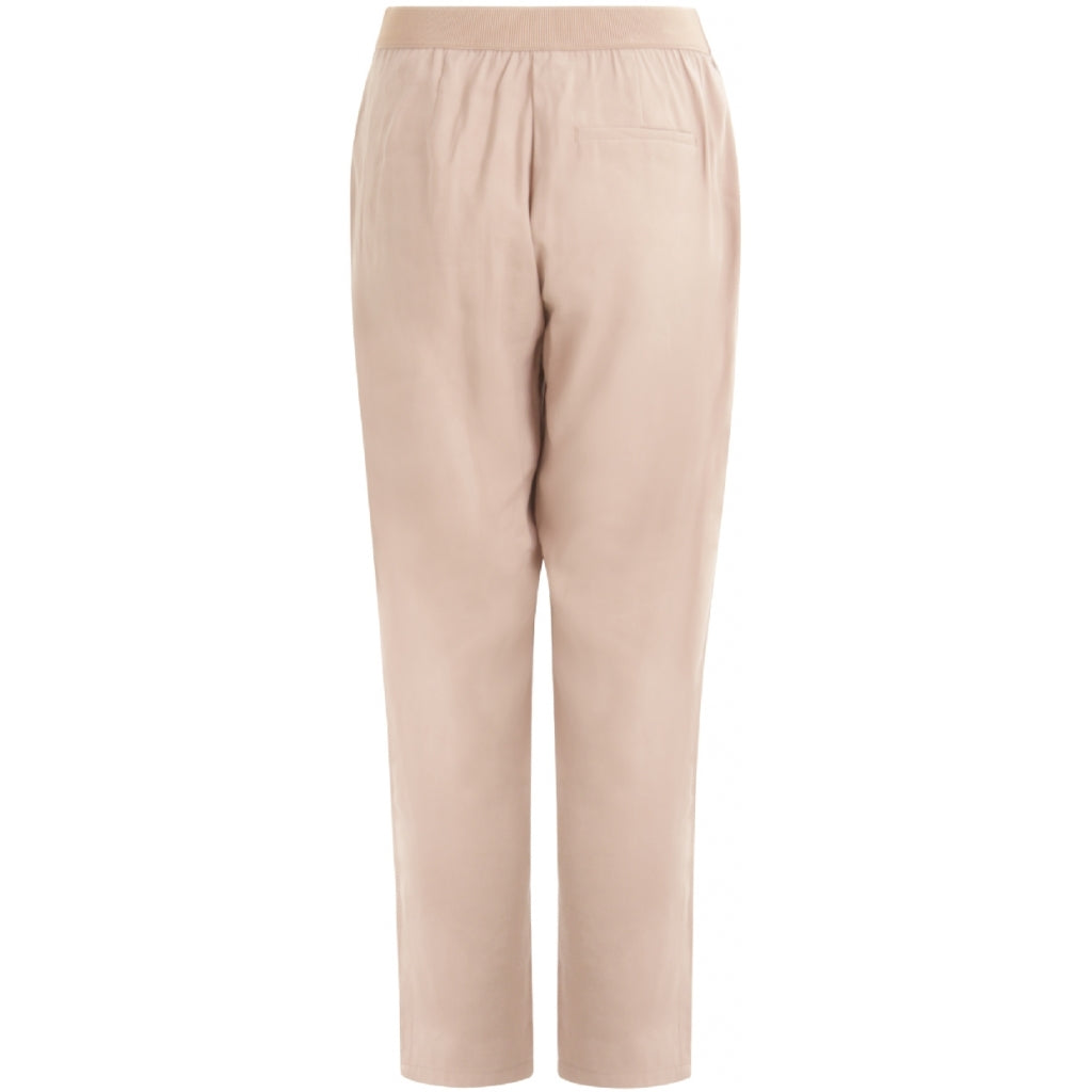 Dusty Pink Cropped Trousers
