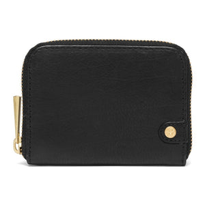 Small Black Leather Purse by Depeche