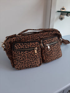 Leopard Print Bag by Depeche