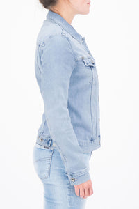 Sofia Slim Fit Denim Jacket by Garcia