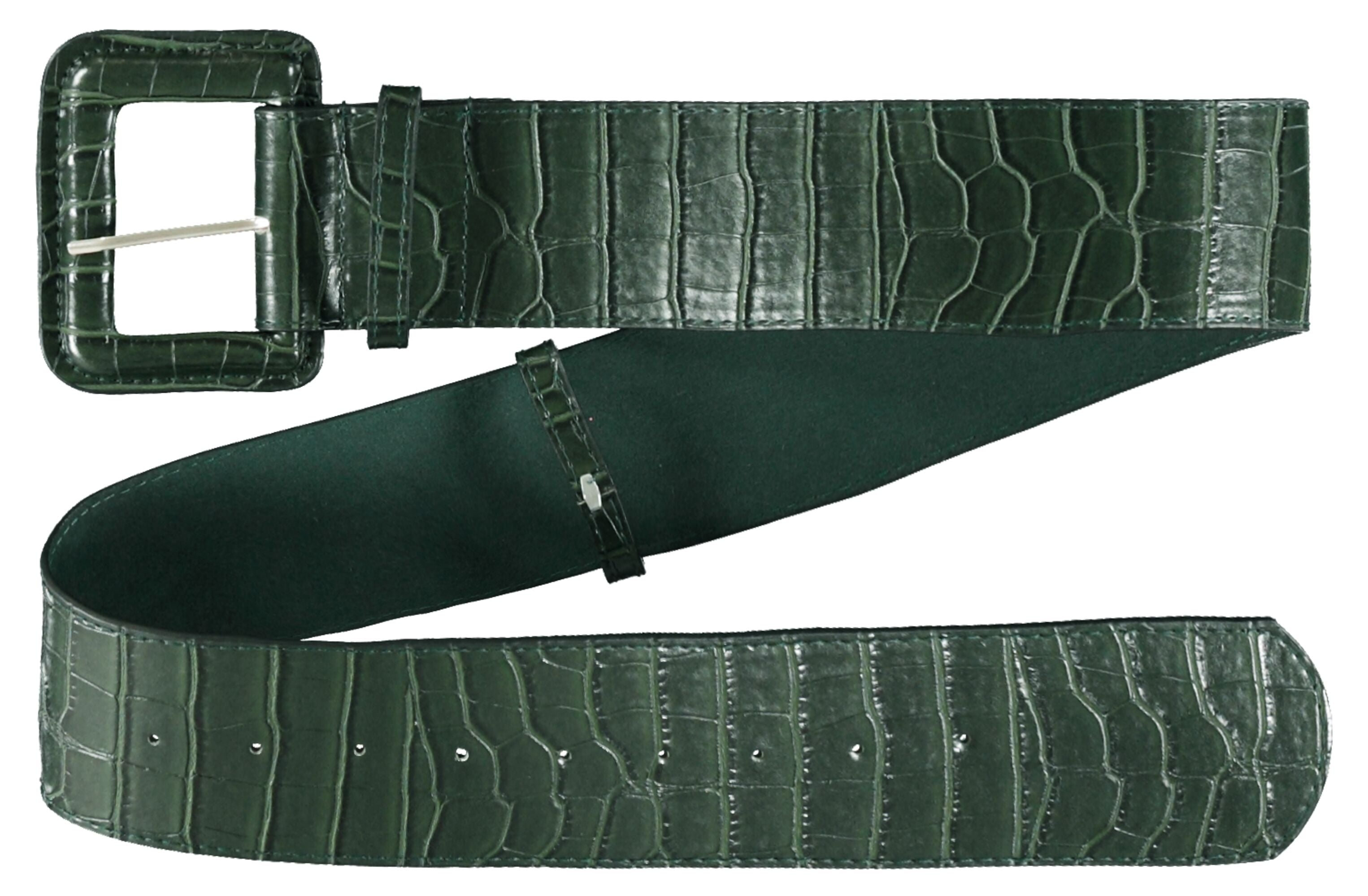 Wide Belt in Pine Green by Garcia