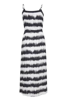 Black and White Patterned Dress by Fransa
