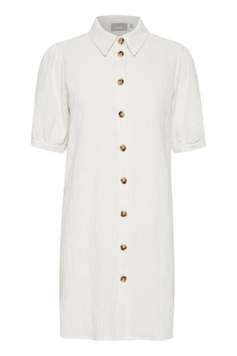 Cotton Shirt Tunic in White by Fransa