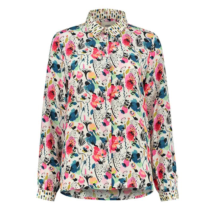 Delicious Mess Ecru Blouse by Pom Amsterdam