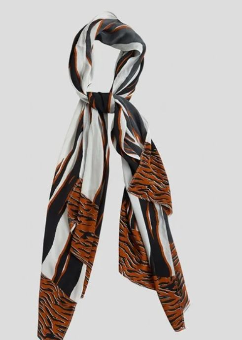 Amur Tiger Scarf by French Connection