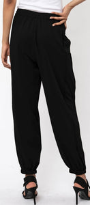 Society Trousers in Jet Black by Religion