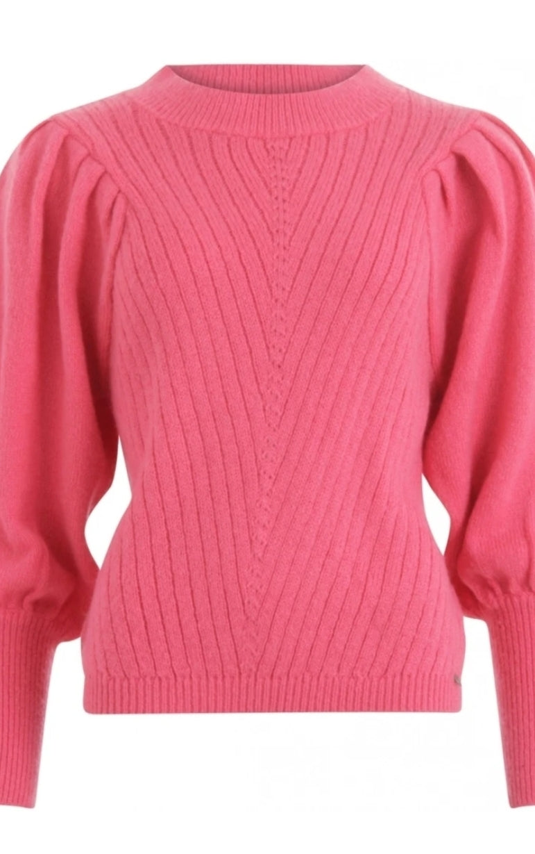 Pink Volume Sleeve Jumper by Coster Copenhagen