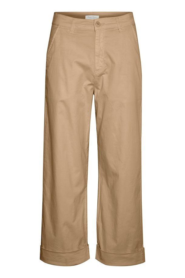 Danja Wide Chino Style Trousers by Part Two