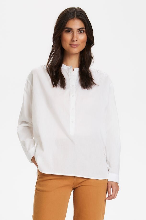 White Loose Fit Bianca Shirt by Part Two