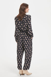 Meadow Print Dark Blue TexasPW Jumpsuit by Part Two
