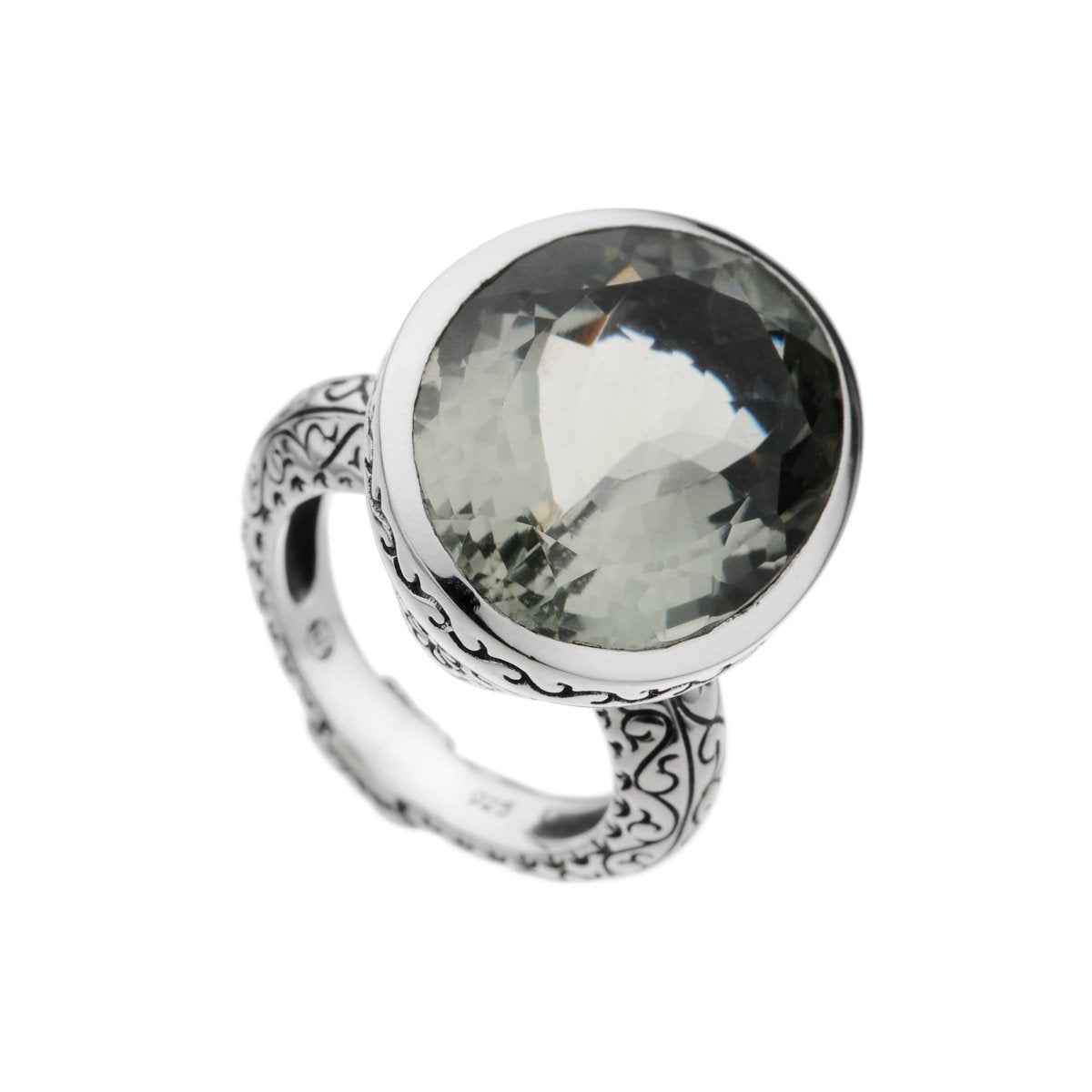 Envy Green Amethyst Ring