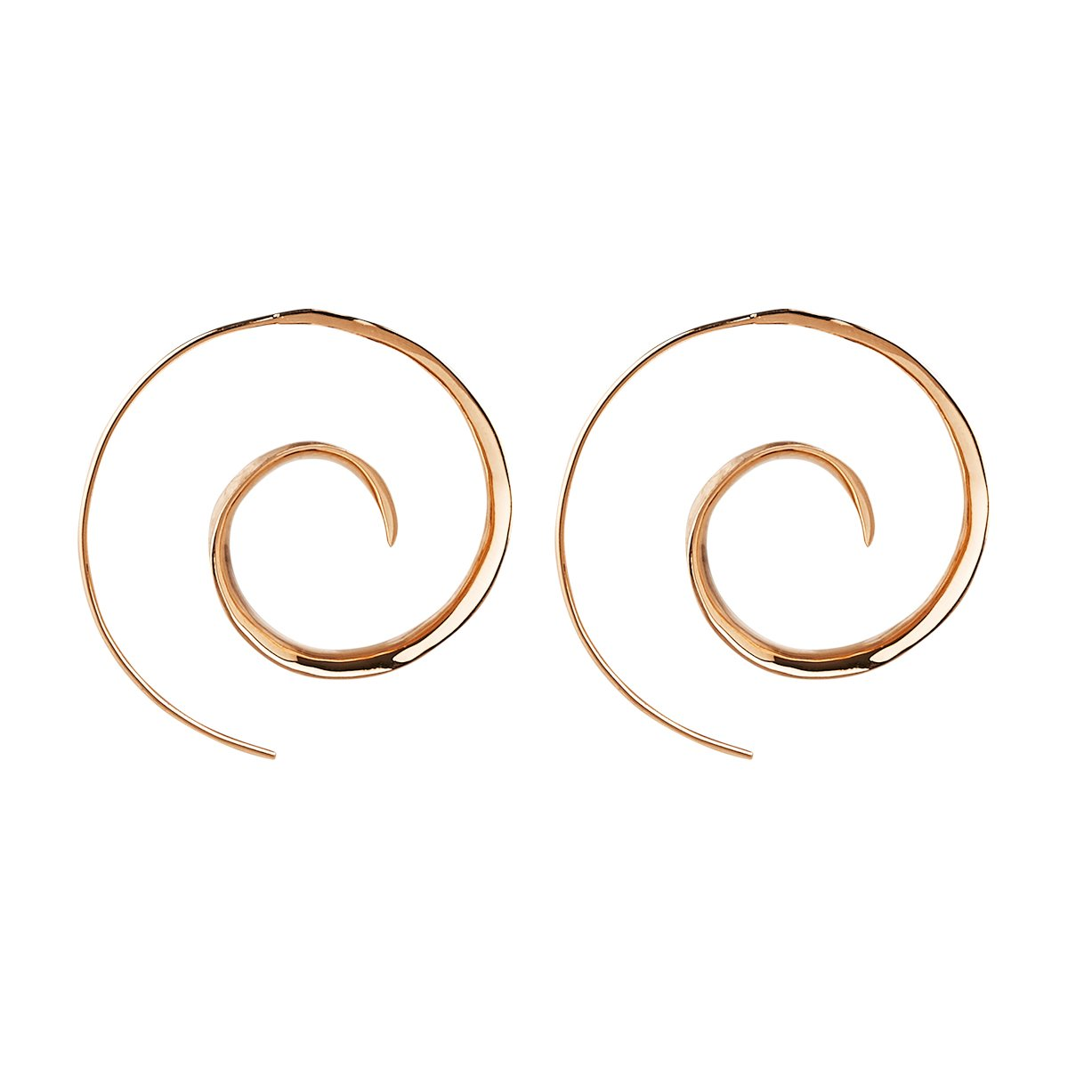 Ravishing Ringlets Earring (Rose)