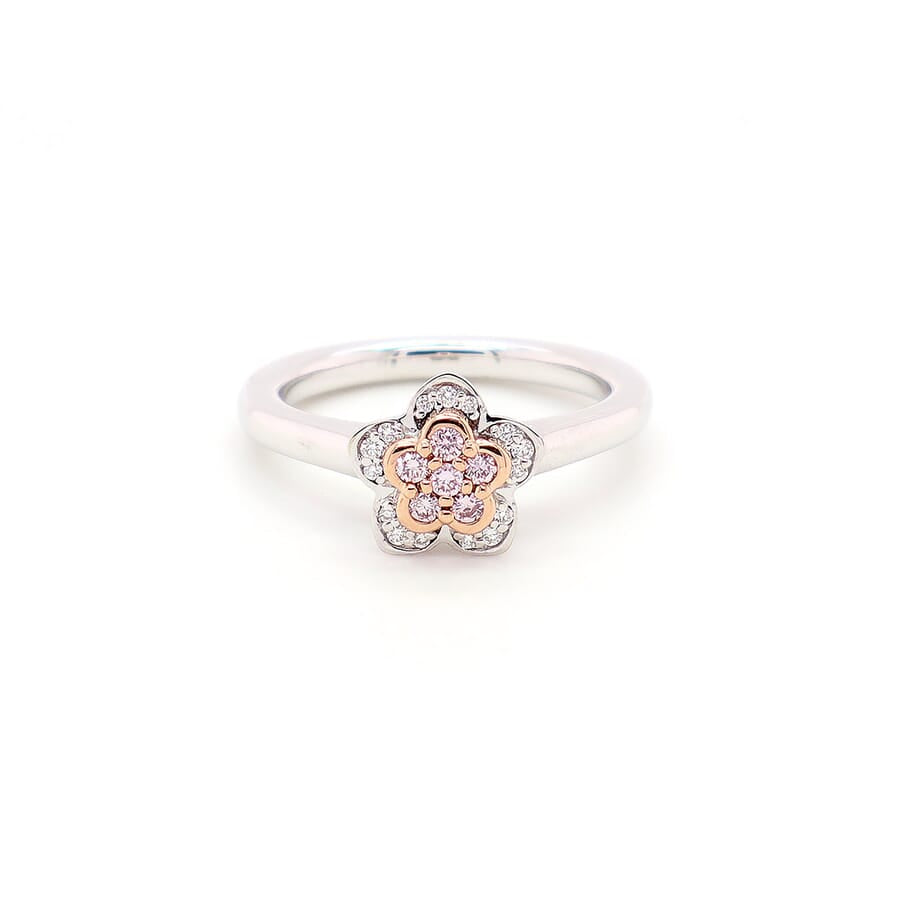BLUSH TAYA RING