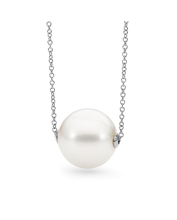 9CT EDISON FRESHWATER PEARL CHAIN NECKLACE