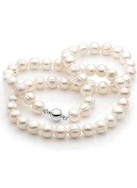 CIRCLE 8-9MM FRESHWATER PEARL 50cm STRAND