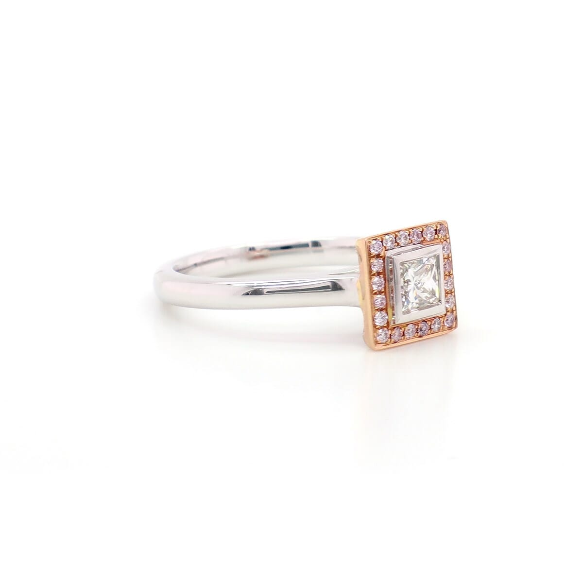 KIMBERLEY CLASSIC LADY HALO RING