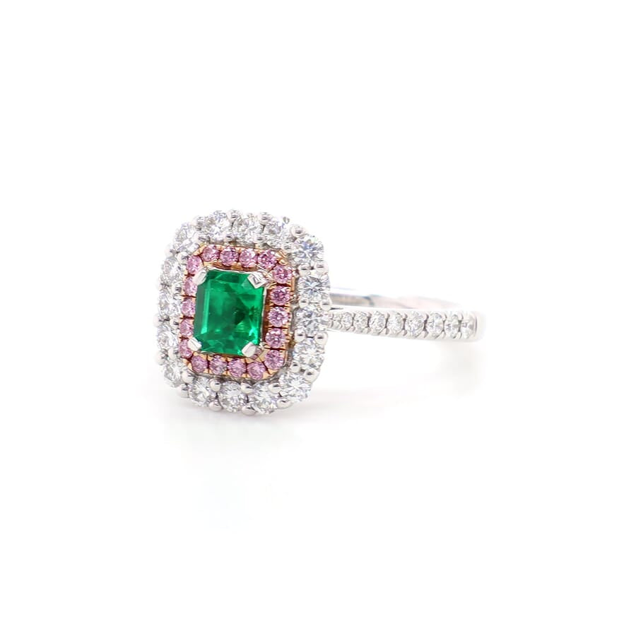 Kimberley Emerald Ring