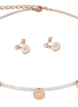 Fresh white & Rose gold coin style 4990_1400