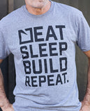 Eat. Sleep. Build. Repeat (Mens)