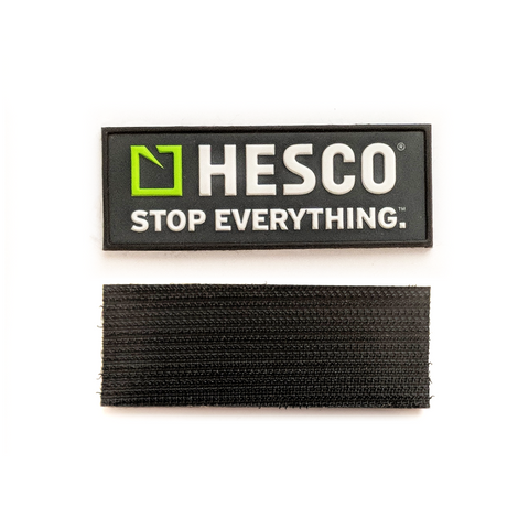 Hesco STOP EVERYTHING Velcro Patch