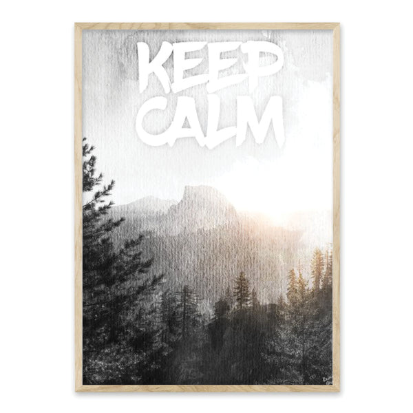 Keep Calm - Plakat
