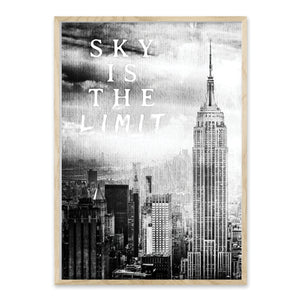 Sky is the limit - Plakat