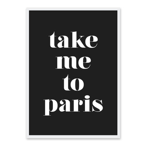 Take Me To Paris - Sort