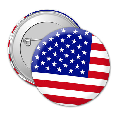 US Flag Badge