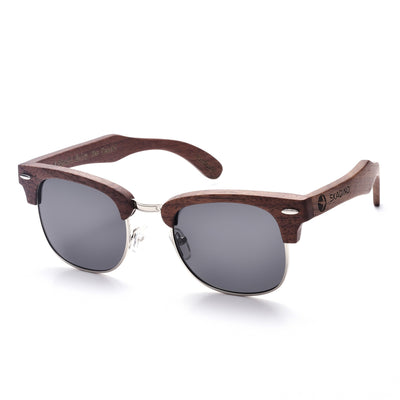 Wood Framed Sunglasses