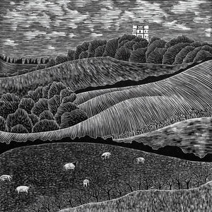 Molly Lemon Wood Engraving Haldon